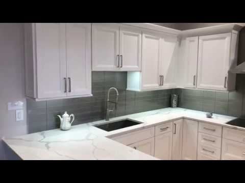 Kitchen Cabinets And Countertops At Aqua Kitchen And Bath Design Center In Wayne Nj Youtube