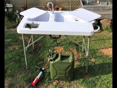 Diy Pressurized Camping Sink Youtube