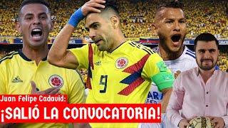 Colombia sin Falcao, Con Cardona y Suárez vs Uruguay y Ecuador | Análisis de Juan Felipe Cadavid