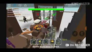 Gameplay-Filmmaterial aus Roblox TDS (Tower Defense Simulator)