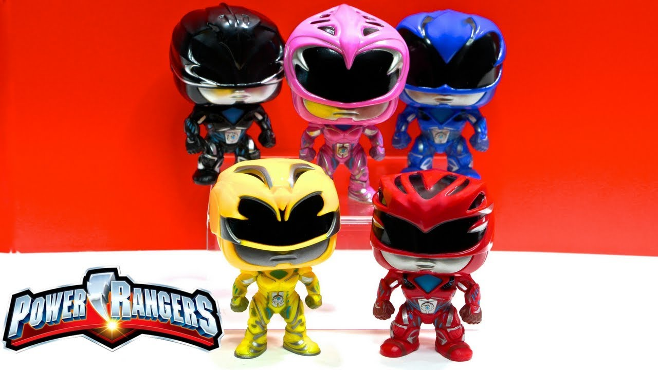 1d958f74260 Power Rangers Movie Pop! Funko Vinyl Figures Review   Unboxing  Power  Rangers Movie