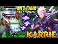 Karrie the Anti-Tanks Hero - Top 1 Global Karrie Bless. - Mobile Legends
