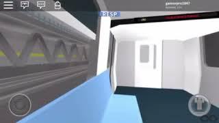 Roblox R160 Siemens (N) train ride