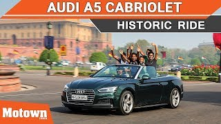 Audi A5 Cabriolet | Special Feature | Motown India