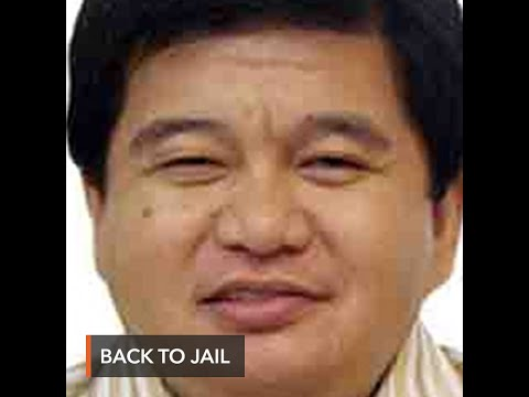 2 days before verdict, court orders Zaldy Ampatuan's return to jail