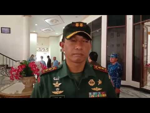 INI HARAPAN KOMANDAN TNI - AD, AU DAN AL TERKAIT PENCEGAHAN VIRUS CORONA MASUK KE TUAL