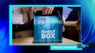 Nine HD - 30 Second Blue Sponsor Billboard (6.6.2018)