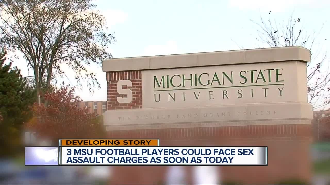 Three Michigan State players charged with sexual assault are named and dismissed