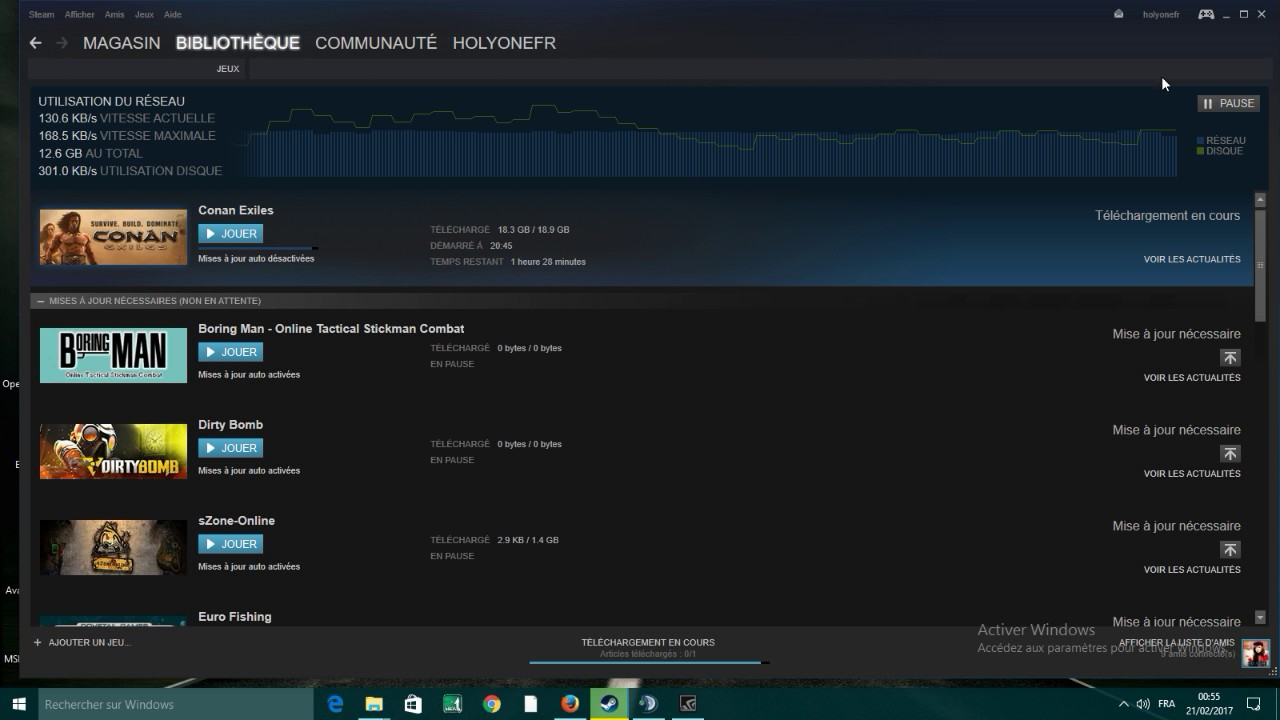 Comment Resoudre Le Probleme De Telechargement Sur Steam Youtube