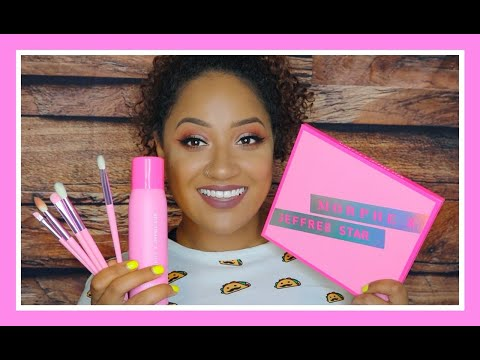 MORPHE X JEFFREE STAR COLLAB! REVIEW AND TUTORIAL! thumbnail