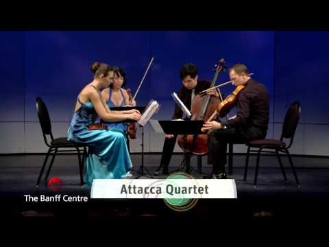 BISQC 2013 - Attacca Quartet - Antonín Dvořák Quartet in G Major