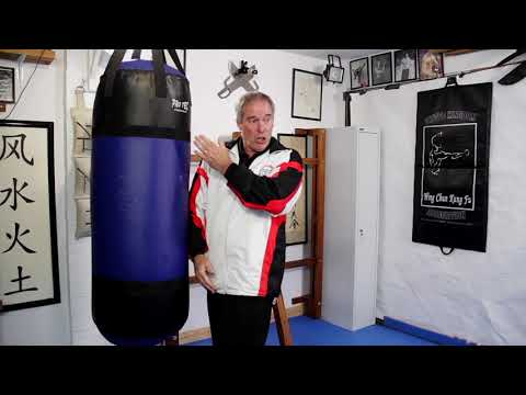 Wing Chun Heavy Bag and Elbows