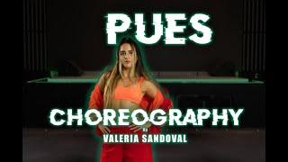 Valeria Sandoval - PUES - R3HAB, Luis Fonsi, Sean Paul (DANCE TUTORIAL OFICIAL)