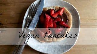 Vegan (No Banana) Pancake Recipe | ohsoindiacharlotte