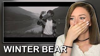 Cover images taehyung winter bear reaction (HIS VOCALS!!) // itsgeorginaokay