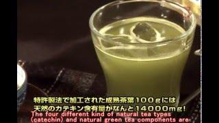 【世界特許の抗酸化食品 健康緑茶 日本中央伝統茶】Patent catechin organically grown healthy green tea!