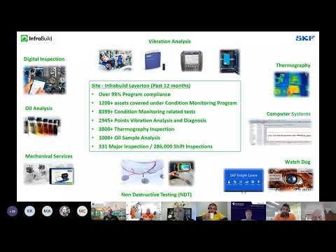 SKF Australasia Knowledge share | on-demand webinars | Automated machine monitoring program
