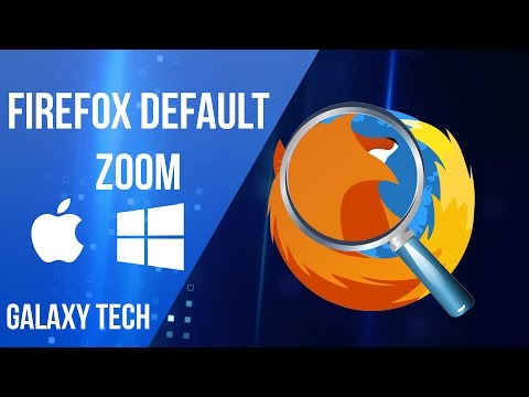 01 - How to Set Firefox Default Zoom
