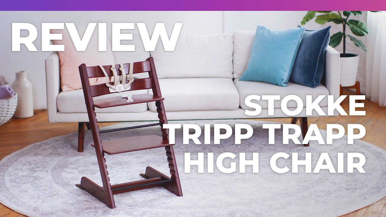 f4b2d2d2b Stokke Tripp Trapp High Chair - What to Expect Review - YouTube
