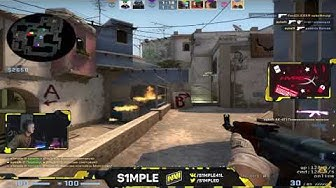 S1mple Plays Faceit 20191212