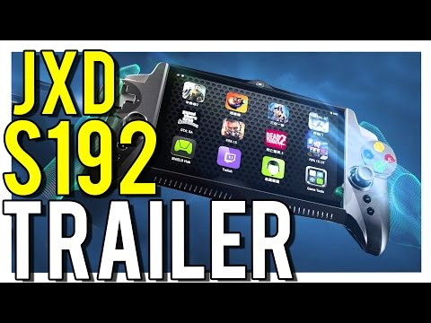 JXD S192 NVIDIA Android Retro Handheld Games Console Pre-Orders Open For $316 (video)