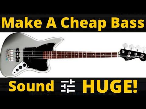How To Make A Cheap Bass Sound HUGE – RecordingRevolution.com