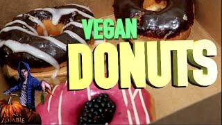 Vegan Donuts and Ethiopian Food   The Vegan Zombie VLOG