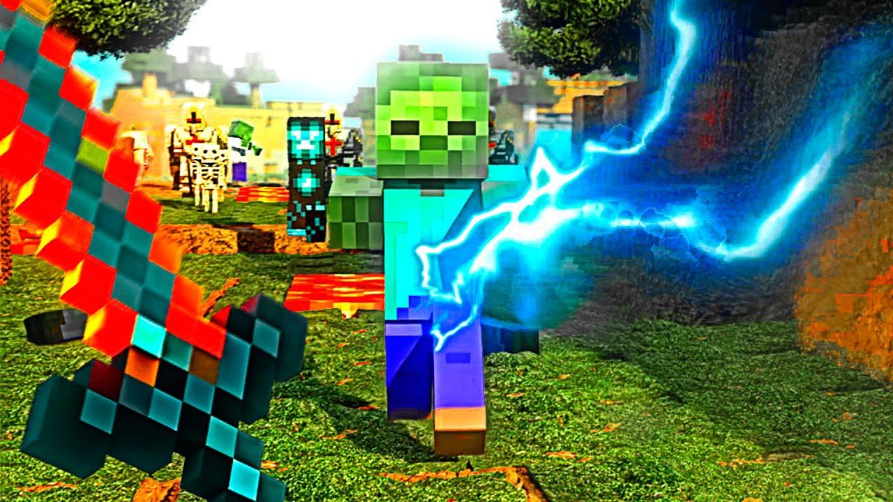 Minecraft in HD 100% LOOSE BONES Full [ RTX on ]