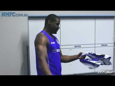 Eric Wallace joins the North Melbourne team