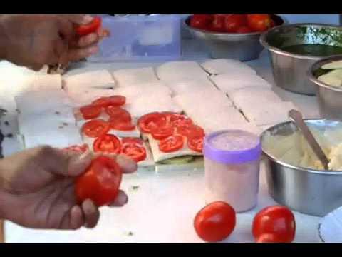 Bombay Sandwich-Street Food of Vadodara-Gujarat-India.wmv