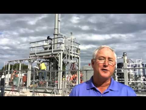 Del Mar College Petroleum Processing and Instrumentation Pilot Plant being installed at West Campus