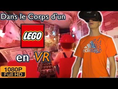 Dans le Corps d'un LEGO® en VR !! [VR#1]