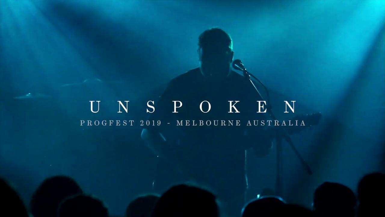 Chaos Divine  - Unspoken Live at Progfest 2019, Melbourne