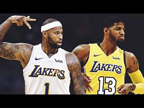 DeMarcus Cousins and Paul George Trade to Lakers?