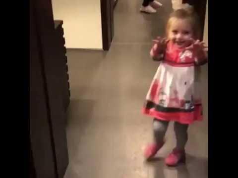 Дочька Татьяны Навки и Дмитрия Пескова пугает родителей