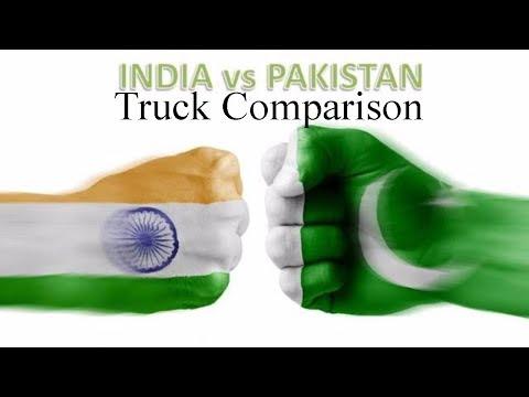 Indian trucks vs Pakistani trucks (unbiased)