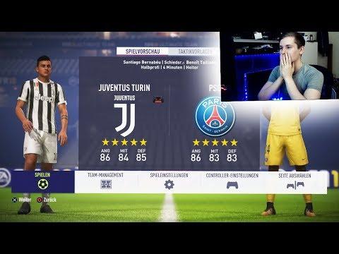 MEIN ERSTES mal FIFA 18!!!🔥🔥 - JUVENTUS vs PSG Gameplay! - FIFA 18 Demo