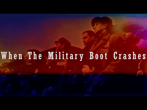 When the Military Boot Crashes