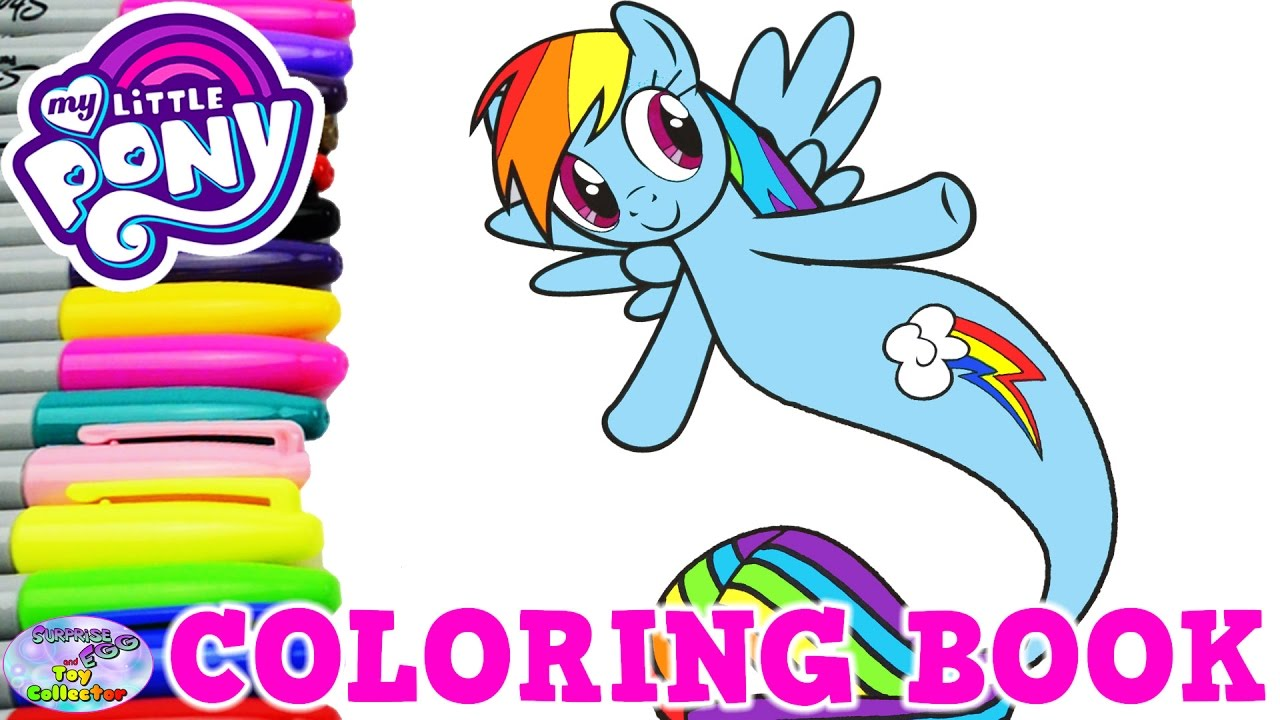 My Little Pony Coloring Book Rainbow