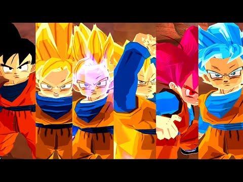 Goten PACK All Transformation | Dragon Ball Z Budokai Tenkaichi 3