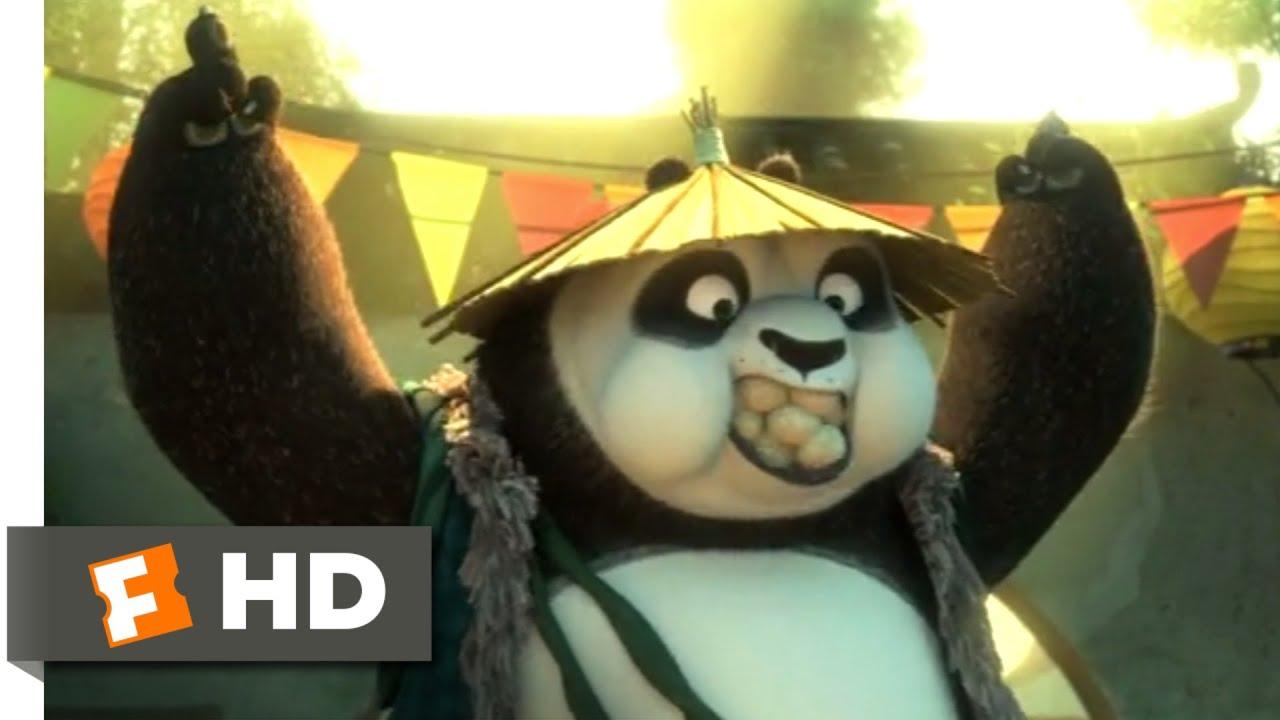 Kung Fu Panda 3 2016 Po S Real Dad Scene 2 10 Movieclips Youtube
