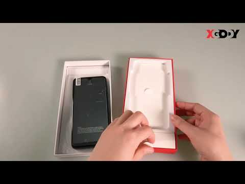 Xgody Note8 Unboxing Dual Sim 4g Phone With Type C Charging Jack