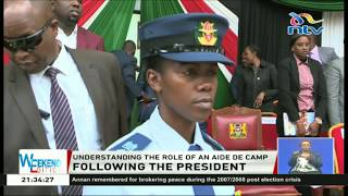 Leutenant Colonel Rachel Nduta, becomes the first female aide de camp to the president