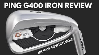 Ping G400 Iron Review With Launch Monitor Data