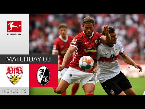 VfB Stuttgart - SC Freiburg 2-3 | Highlights | Matchday 3 – Bundesliga 2021/22