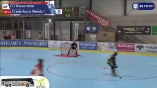 المباراة 6: EC M-الشبكة-الذئاب - إنشاء الرياضية قرية الحجر - 7:1 (3.الربع / 08:28) على 18.06.2016 14:04