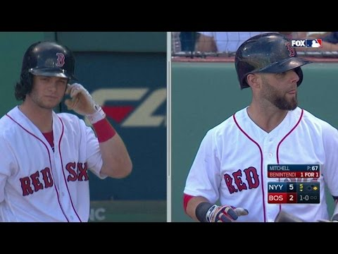 NYY@BOS: Rosenthal on Benintendi living with Pedroia