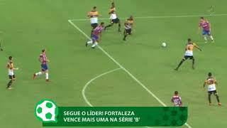 Fortaleza vence mais uma na Série B e segue líder