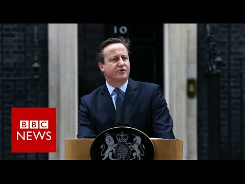"EU referendum: ""The choice is in your hands"" David Cameron  - BBC News"