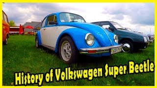 Vintage German Cars Volkswagen Super Beetle 1303 S Review 2018. Old Cars of the 1970s